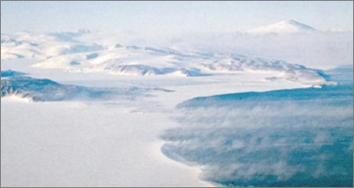 Antarctica: Wind as engine of climate in sea-ice formation