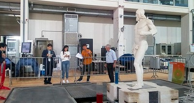 Cultural Heritage:  ENEA's innovative anti-seismic technology shown to a Korean Delegation