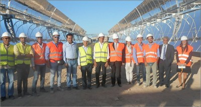 Energy: Italian Ambassador to Cairo Giampaolo Cantini visits the MATS facility in Egypt