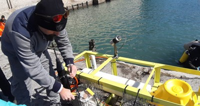 Environment: Liguria, underwater laboratory to monitor the sea and test new technologies
