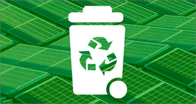 Environment: Recycling photovoltaic panels' end-of-life materials