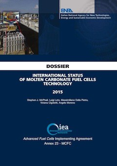 International Status of Molten Carbonate Fuel Cells Technology - 2015