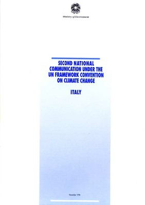 Second National Communication under the UN Framework Convention on Climate Change - Italy
