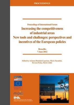 Increasing the Competitiveness of Industrial Areas. New tools and challenges: perspectives and incentives of the European policies
