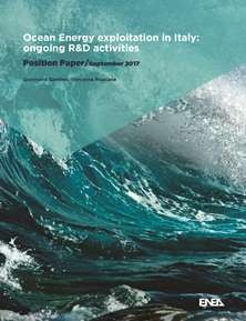 Ocean energy exploitation in Italy: ongoing R&D activities