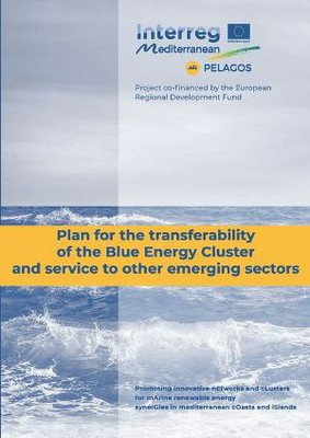 Plan for the transferability of the Blue Energy Cluster and service to other emerging sectors