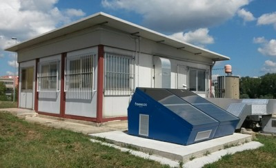 Prototipo condizionatore SolarDEC