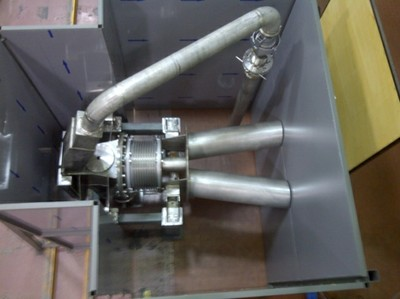 Prototipo Target Assembly