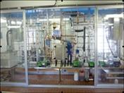 Impianto pilota per la produzione di idrogeno