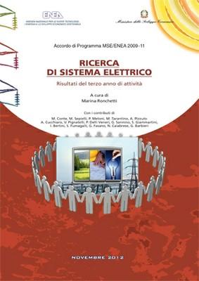 Ricerca di Sistema Elettrico - Risultati del terzo anno di attività 2009-2011