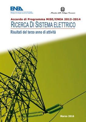 Ricerca di Sistema Elettrico - Risultati del terzo anno di attività 2012-2014