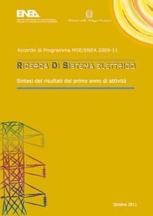 Ricerca di Sistema Elettrico - Sintesi risultati del primo anno di attività 2009-2011