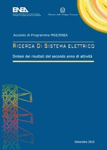 Ricerca di Sistema Elettrico - Sintesi risultati del secondo anno di attività 2006-2008
