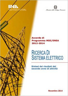 Ricerca di Sistema Elettrico - Sintesi risultati del secondo anno di attività 2012-2014