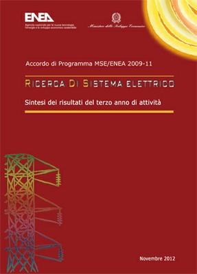 Ricerca di Sistema Elettrico - Sintesi risultati del terzo anno di attività 2009-2011