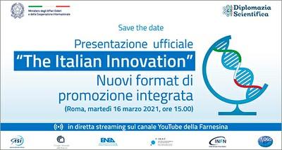 """ENEA: conferenza stampa online iniziativa """"The Italian Innovation"""" con MAECI"""