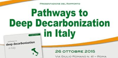 Energia: con politiche low carbon risparmi fino a 66 mld di euro/anno su bolletta Italia