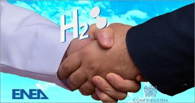 Energia: Confindustria-ENEA firmano il patto per l'idrogeno