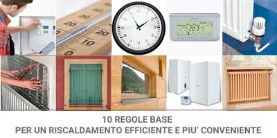 Energia: Riscaldamenti, 10 regole base contro caro bollette