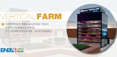 """EXPO 2015: ENEA inaugura prima Vertical Farm italiana con campagna """"meno sprechi = più sostenibilità"""". Prima iniziativa: prodotti serra verticale destinati alla Caritas Ambrosiana"""