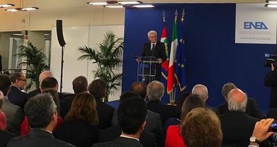 Il Presidente della Repubblica Mattarella visita il Centro ENEA Casaccia, uno dei principali campus di ricerca in Europa