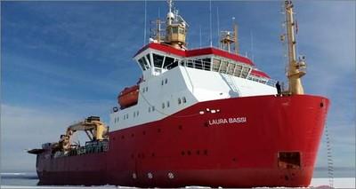 Prima campagna in Artico per la N/R Laura Bassi
