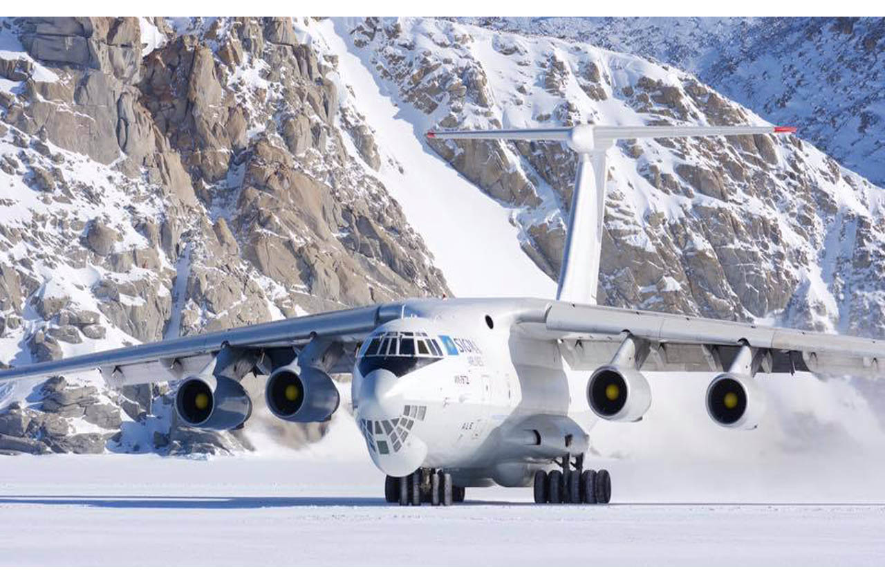 Grande cargo Ilyushin-76