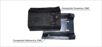 Paracalore in CMC e PMC, ottenuti per laminazione sullo stesso stampo