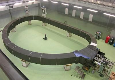 Il magnete nell'impianto di ASG Superconductors a La Spezia