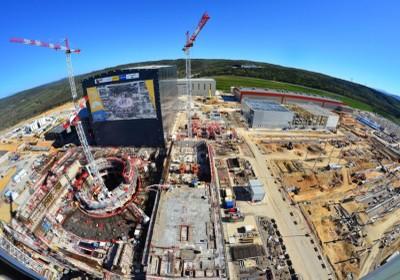 Il sito dove si sta costruendo il reattore ITER (Cadarache, Francia)