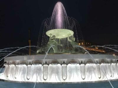 Fontana dei Tritoni (La Valletta) - copyright De Feo Restauri