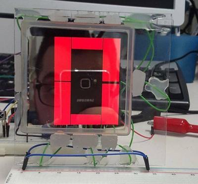 Display numerico a 7 segmenti OLED