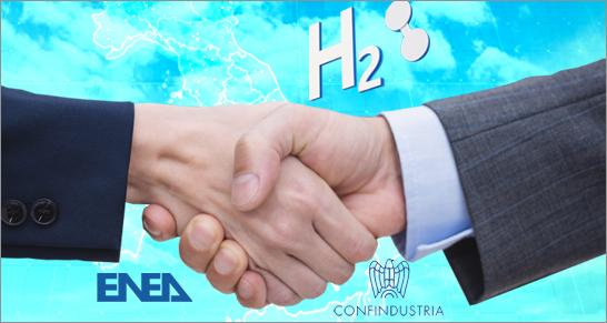 Stretta di mano tra ENEA e Confindustria