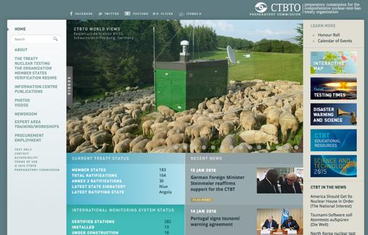 Sito web CBTO