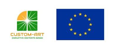 logo CUSTOM-ART e logo EU