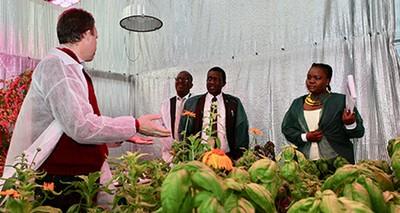 delegazione botswana