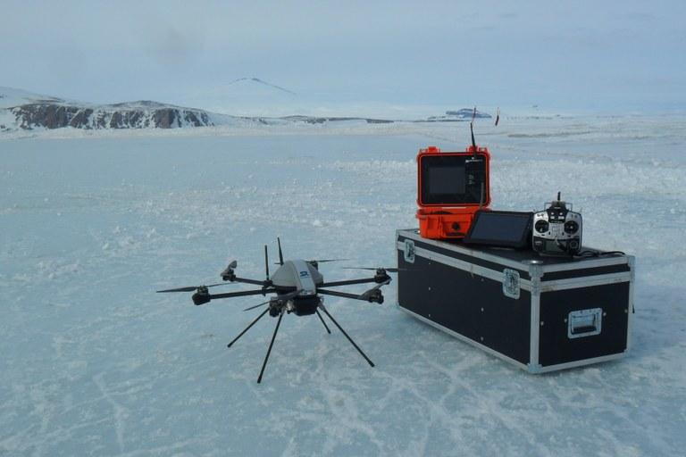 strumentazione del drone Skyrobotic