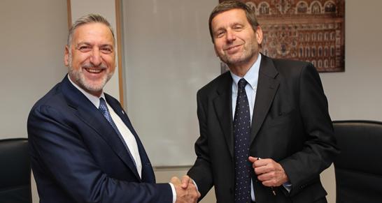 Firma accordo ENEA ITALFERR
