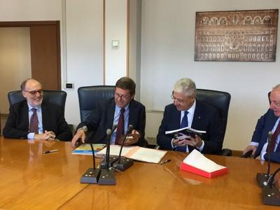 Firma Accordo ENEA - Vigili del Fuoco