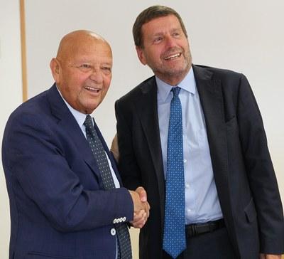 Firma accordo ENEA-IEG (12 settembre 2019)