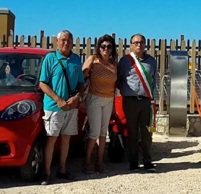 Colonnina ricarica veicoli elettrici Lampedusa