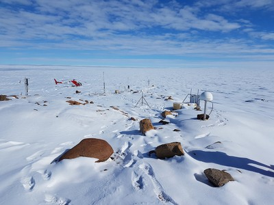 Larsen CPNRA Osservatorio Meteo Climatologico Antartico ENEA