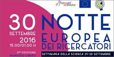 Notte Europea dei ricercatori 2016