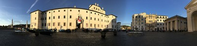 Panoramica Palazzo Chigi Ariccia
