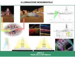 Illuminazione Palazzo della Repubblica