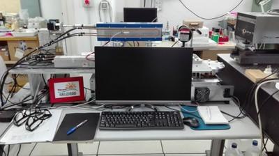Postazione misure tecnologie laser