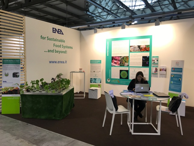 Seeds & Chips stand ENEA 2017