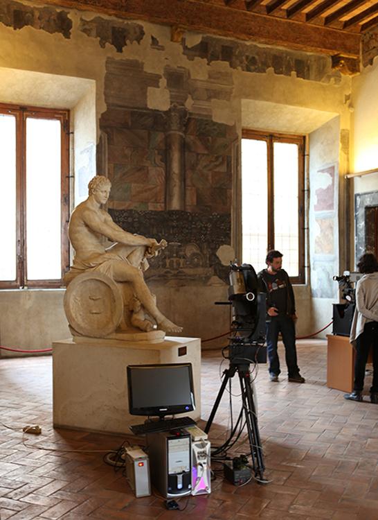 Esempio di tecnologia applicata alle statue