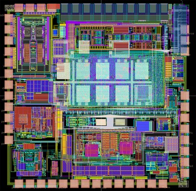 Chip SENSIPLUS visto con CAD