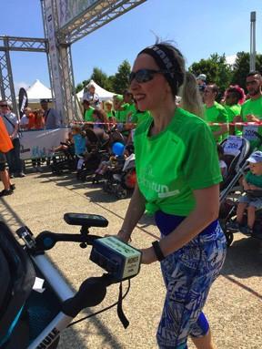 Monica Stroller Race